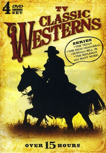 TV Classic Westerns - 4 DVD Set ...