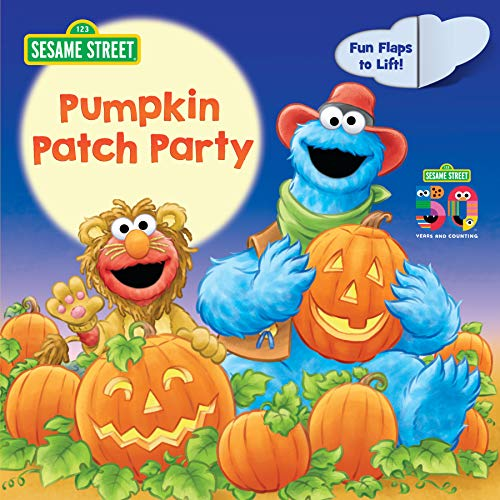 Pumpkin Patch Party (Sesame Street): A Lift-the-Flap Board Book -