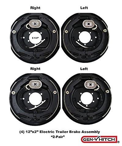 Trailer Brake Assembly Electric Trailer Brakes 12