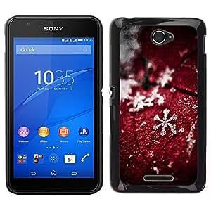 Dragon Case - FOR Sony Xperia E4 - expect littleappreciation - Caja protectora de pl??stico duro de la cubierta Dise?¡Ào Slim Fit