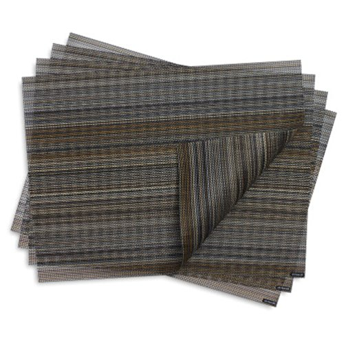 (Chilewich Multi Stripe Rectangle Table Mat 14