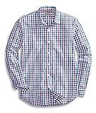 Goodthreads Men's Regular-Fit Long-Sleeve Checked Shirt