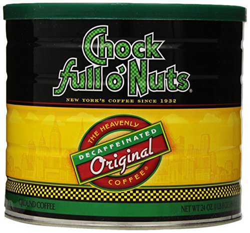Chock full o'Nuts Coffee Original Decaf Ground, 24 Ounce
