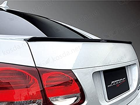 TrueLine Flat Black Finish Trunk Spoiler Lip Kit - 2000 Honda Civic Trunk