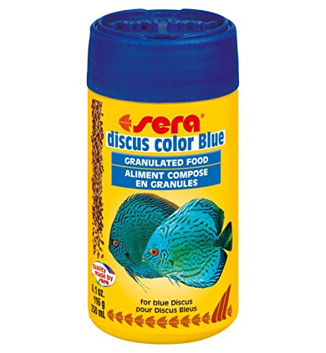 Sera 326 Discus Color Blue 3.9 oz 250 ml Pet Food, One ()