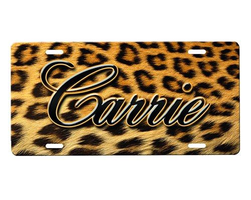 Cheetah Print License Plate (Cheetah Print License Plate)