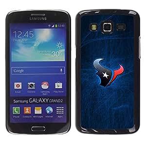 Deportes Bull - Metal de aluminio y de plástico duro Caja del teléfono - Negro - Samsung Galaxy Grand 2