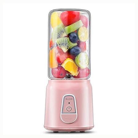 QOUDU Mini licuadora de 350 ml, batidora de frutas, vaso extractor ...