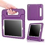 iPad Mini 1 / 2 / 3 Case, MoKo Kids Shock Proof Handle Light Weight Protective Stand Cover for iPad Mini 1 (2012), iPad Mini 2 (2013), iPad Mini 3 (2014), PURPLE (Not fit iPad Mini 4)