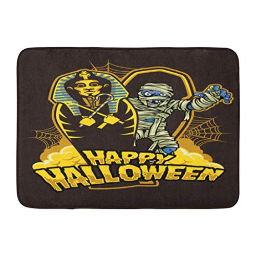 Emvency Doormats Bath Rugs Outdoor/Indoor Door Mat Coffin