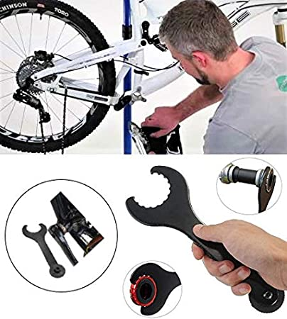 IVALLEY MTB Bike BB pedalier Instalar Quitar Llave de Herramienta ...