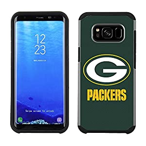 Prime Brands Group Cell Phone Case for Samsung Galaxy S8 Plus - NFL Licensed Green Bay Packers Textured Solid Color by National Marketing Group