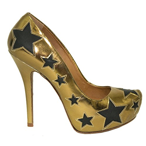 Schutz Damen Pumps Gold Gold
