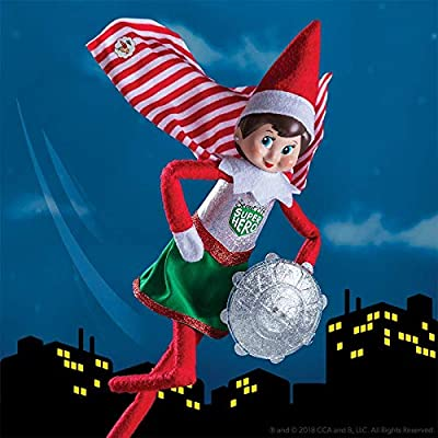 The Elf on the Shelf Claus Couture Collection Scout Elf Superhero Girl: Toys & Games [5Bkhe0402658]