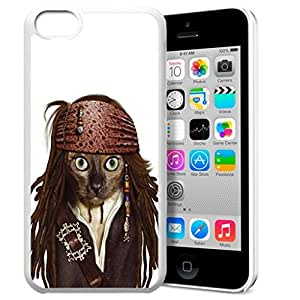 Animal Art Illustration Pattern HD Durable Hard Plastic Case Cover for iphone 5C