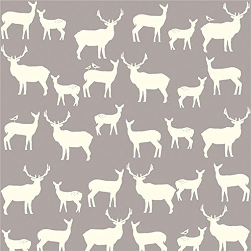 Organic Fitted Crib Sheet - Elk Family