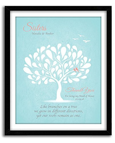 Amazon Personalized Gift For Sister Maid Of Honor Matron