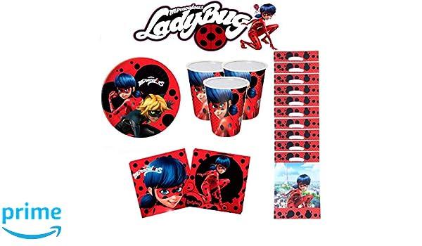 Ladybug Miraculous cumpleaños - Kit de cumpleaños 10 ...