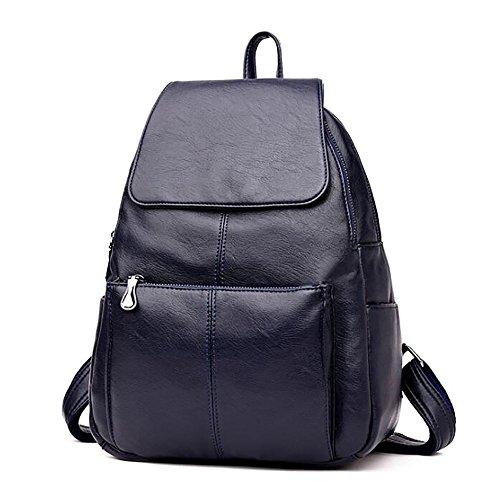à souple en sac Sac main sac 13 33cm cuir de décontracté 26 PU mode multifonctionnel à dos femmes de ryOypz