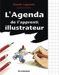 L'Agenda de l'apprenti illustrateur et dessinateur de BD