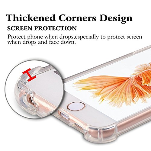 Ultra Trasparente iPhone iPhone Cover 7 8 TPU BackCase Apple Slim Silicone 8 Crystal Clear per Custodia iPhone Thin Flessibile Scratch 06 7 Premium iPhone Anti Gel gg8zq