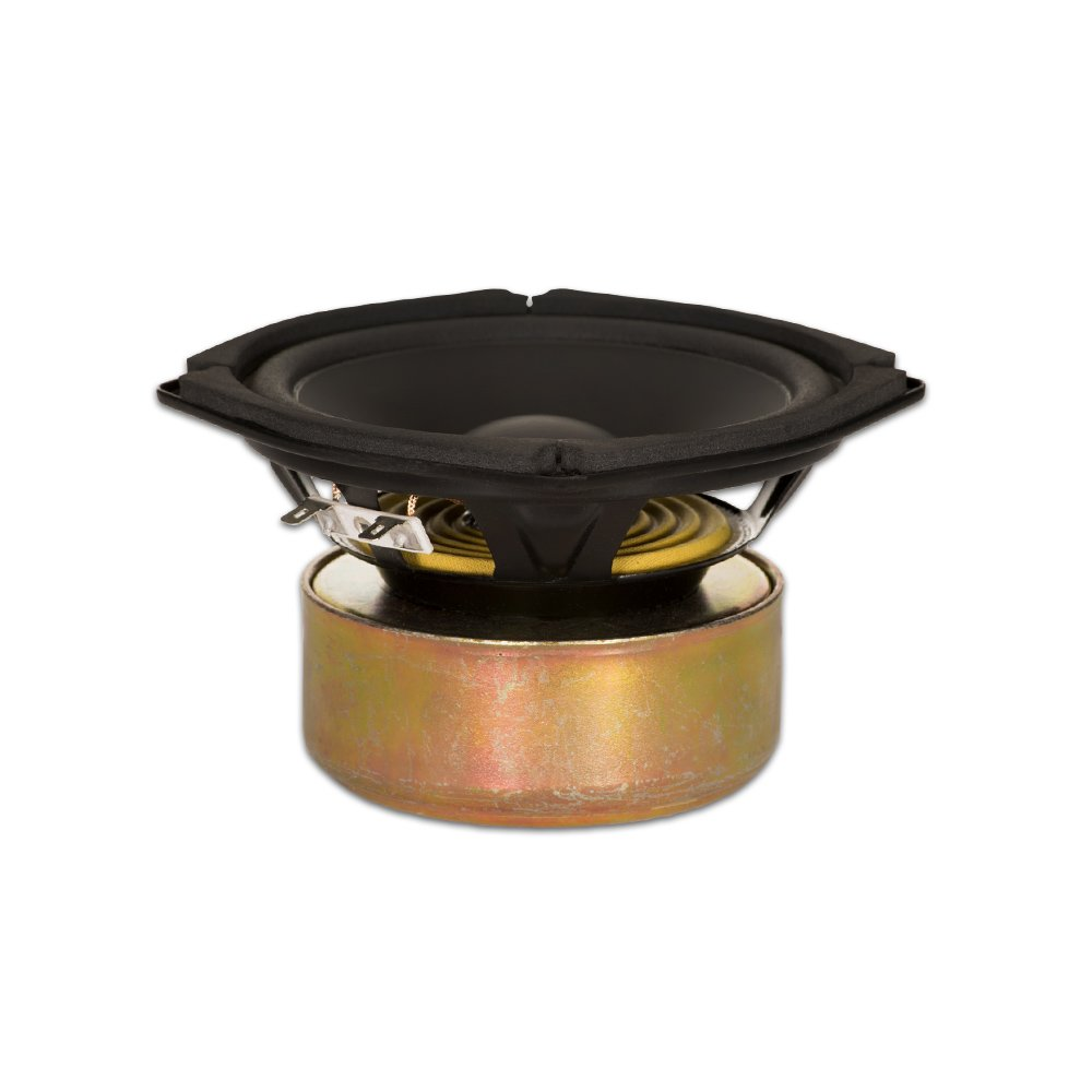 GW-205//8S Goldwood Sound 130 Watts 8ohm Shielded 5 Speaker Woofer Black