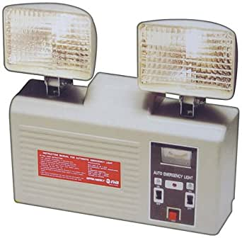 Nippon At108 Wall Mount Rechargeable Emergency Light Automatically Turns On