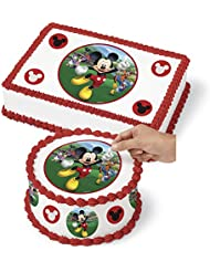 Wilton 710-7109 Mickey and the Roadster Racers Sugar Sheet, Assorted