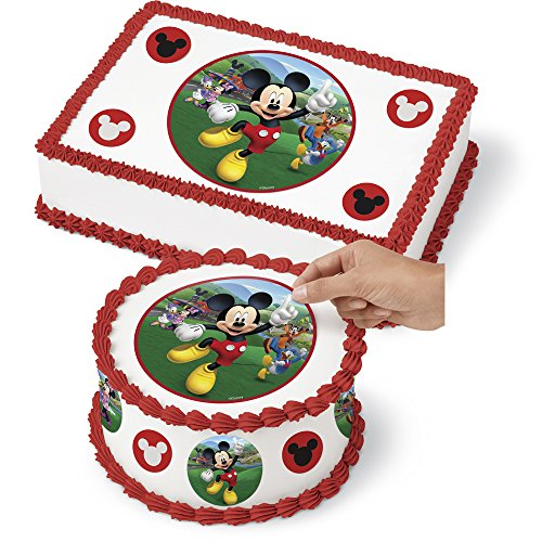 Wilton 710-7109 Mickey and The Roadster Racers Sugar Sheet, Assorted]()