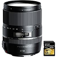 Tamron 16-300mm f/3.5-6.3 Di II VC PZD MACRO Lens for Canon EF-S Cameras with Lexar 64GB Professional 633x SDXC Class 10 UHS-I/U3 Memory Card Up to 95 Mb/s Noticeable Review Image