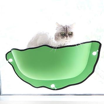 Amazon.com: Decdeal - Hamaca para ventana de gato, de goma ...