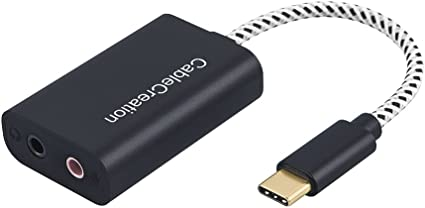 Amazon.com: Adaptador de audio USB-C, CableCreation tipo C ...