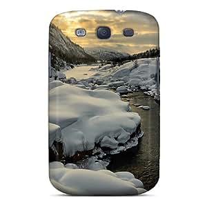 New Arrival Premium S3 Case Cover For Galaxy (magnificent Riverscape In Winter)
