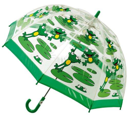Bugzz PVC Kinder Frosch Regenschirm