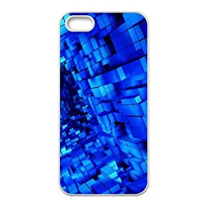 Abstract Tribal Pattern iPhone 5 5s Cell Phone Case White Scnho