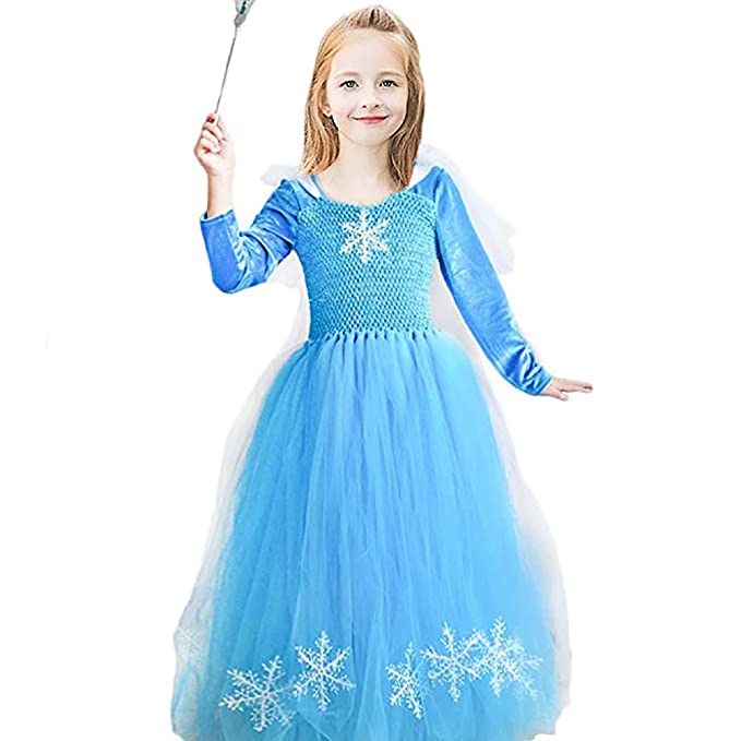 8e4c1e1d5 Amazon.com  CQDY Elsa Princess Dress