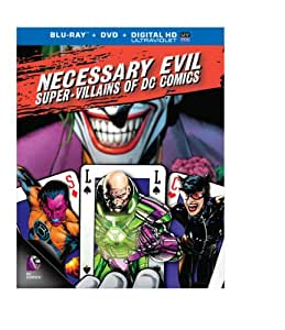 Necessary Evil: Super-Villains of DC Comics (Blu-ray+DVD)