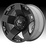 xd rims rockstar - XD Series by KMC Wheels XD775 Rockstar Matte Black Wheel (20x10