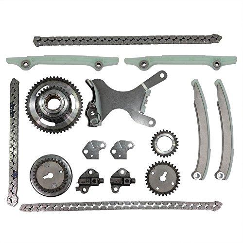 Dodge Ram Timing Chain - ON SALES! Engine Timing Chain Kit Set TK5047E For Dodge Dakota Durango Ram 1500 Jeep Grand Cherokee 4.7L