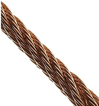 Loos Bronze Wire Rope, 7x7 Strand Core