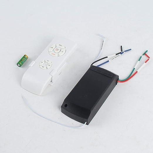 Kit de control remoto de lámpara de ventilador de techo universal ...