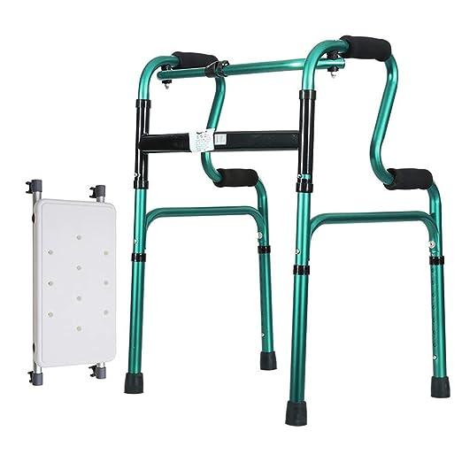 ZXL Andador Plegable de Aluminio con Movilidad para Caminar ...