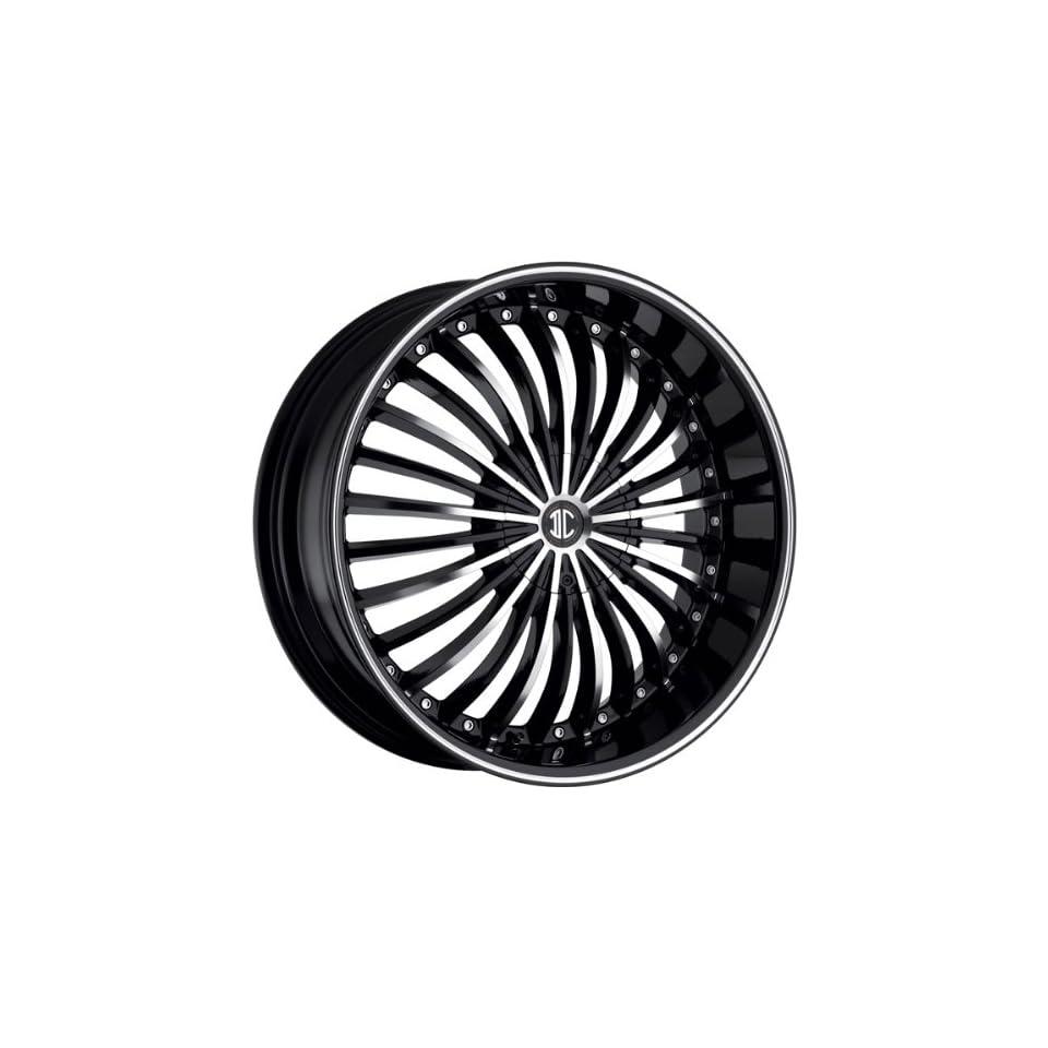 2CRAVE   no.19   24 Inch Rim x 10   (6x135/6x5.5) Offset (30) Wheel Finish   gloss black machined face Automotive