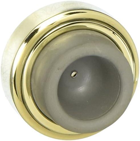 Baldwin 4273.150 Satin Nickel Concave Wall Bumper