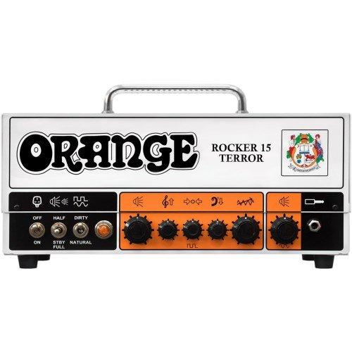 Price comparison product image Orange Amps 4 String Electric Guitar Pack,  Orange (ROCKER-15-TERROR)