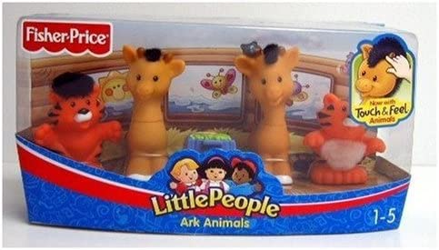 Fisher-Price Little People Gli Animali dellArca di No/è Set 4 Personaggi