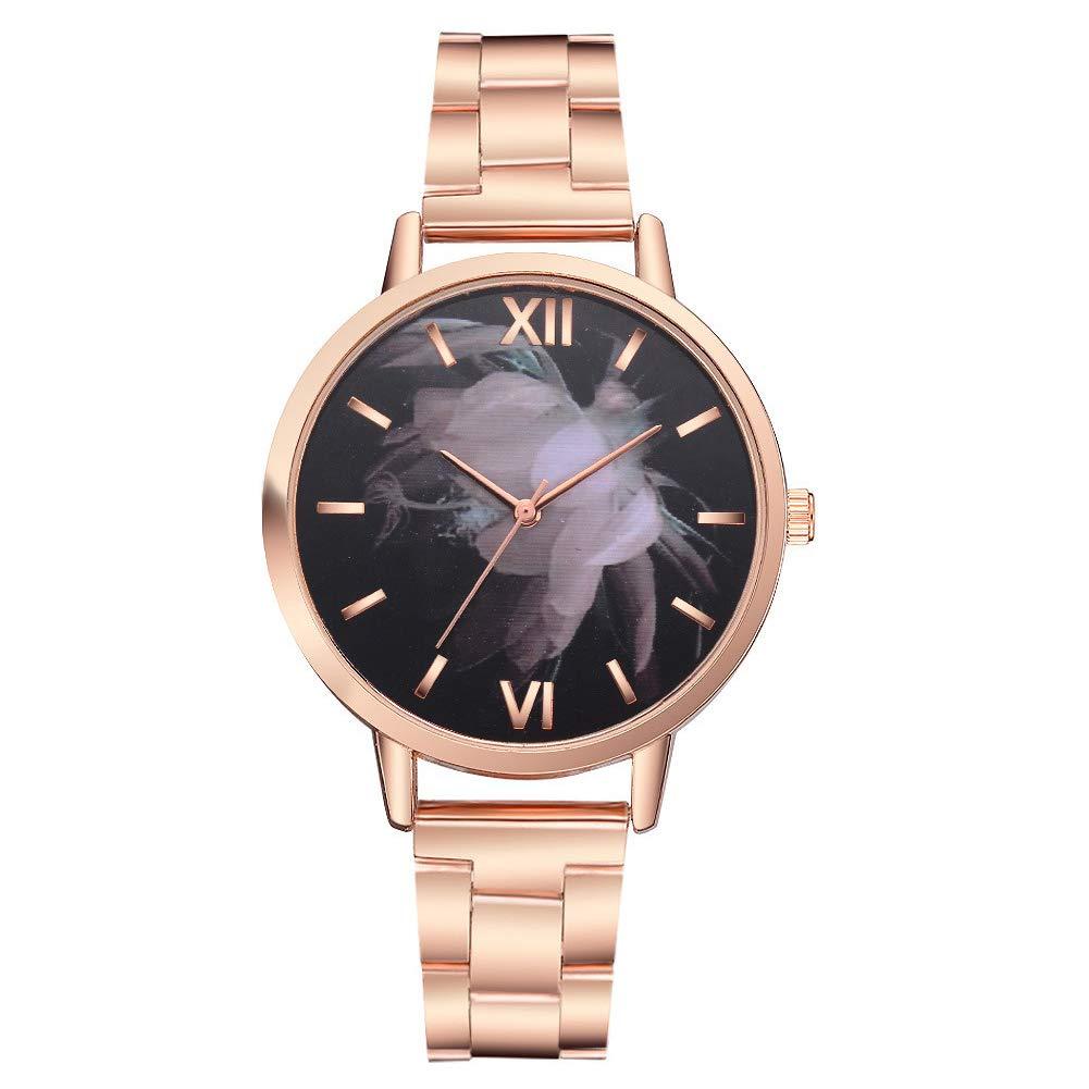 MacRoog Women's Wrist Watches Quartz Watches Ladies Casual Business Watch Stainless Steel Bracelet Watch