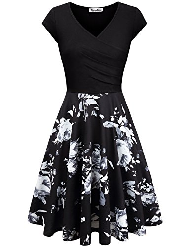WOMEN'S FLORAL SWING DRESS!