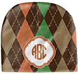 RNK Shops Brown Argyle Baby Hat (Beanie) (Personalized)