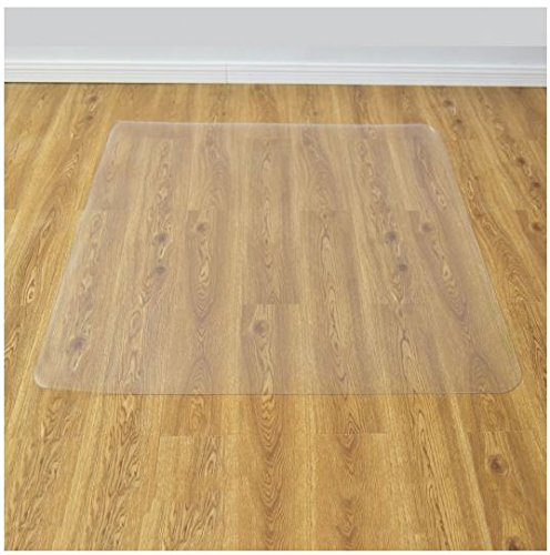 (K&A Company Floor Mat Chair Office Pvc Home Protector Wood Carpet Hard Floors 47 Inches x 47 Inches)